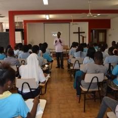 Estudiantes de IMNE-Marista de Luanda capacitados en materia de Derechos Humanos y Ciudadanía