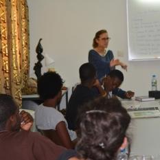 Mosaiko recibe la visita de GRAAL-Movimiento Internacional de Mujeres