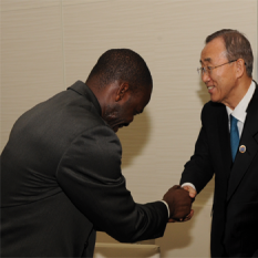 MOSAIKO PARTICIPATES IN MEETING WITH UN SECRETARY GENERAL
