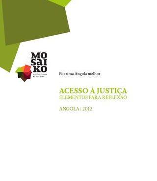 Acesso à Justiça. Elementos para reflexão