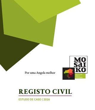 Estudo de Caso sobre Registo Civil | Angola 2016