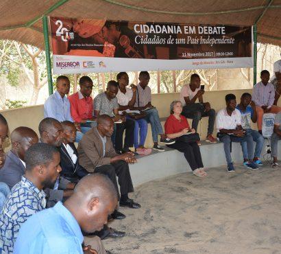 14ª Edição do Cidadania em Debate reflecte sobre o tema: Cidadãos de um País Independente