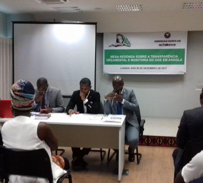 Mosaiko participa em Mesa Redonda sobre a Transparência Orçamental em Angola