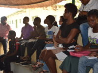 participantes do debate Onjango Feminista