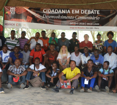 Mosaiko realiza debate sobre Desenvolvimento comunitário
