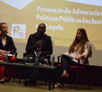 """Mosaiko apresenta o Projecto """"Promoção da Advocacia de Políticas Públicas Inclusivas em Angola"""""""