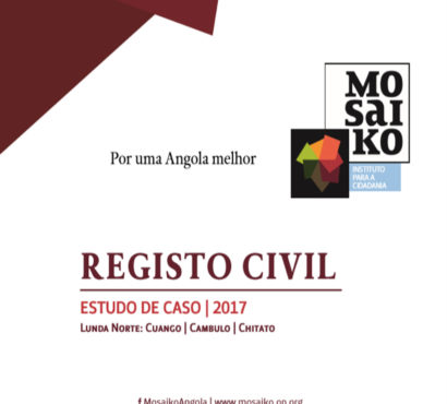 Estudo de Caso sobre Registo Civil