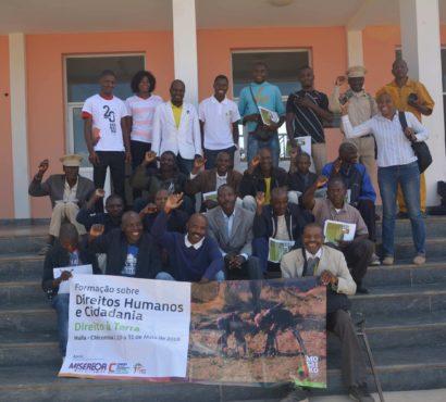 Mosaiko facilita formação sobre Direitos Humanos e Cidadania em Chicomba
