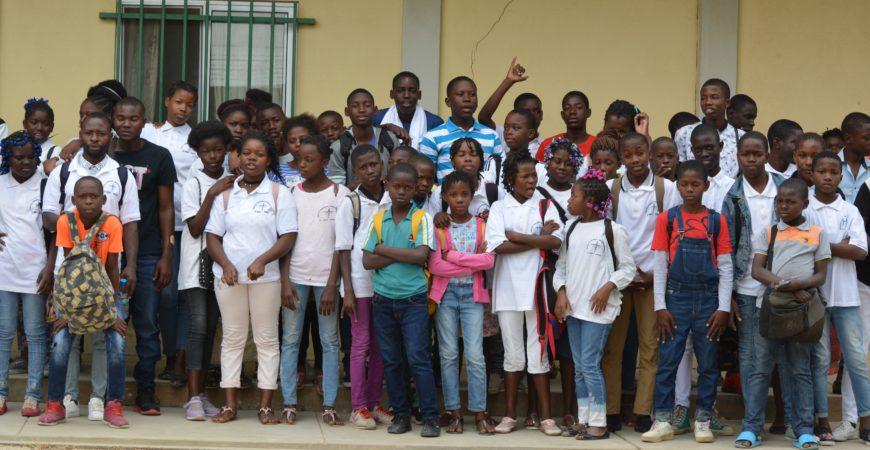 Mosaiko recebe visita dos Estudantes do Centro de Promoção Maria Auxiliadora