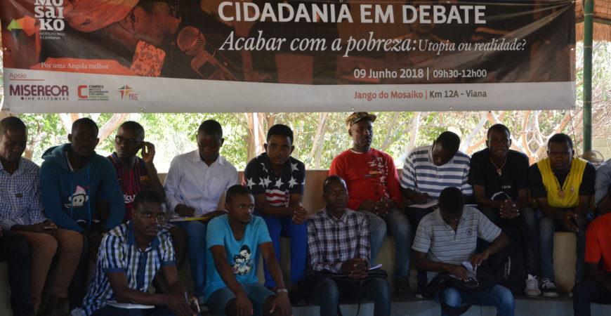 Debate sobre a pobreza em Angola
