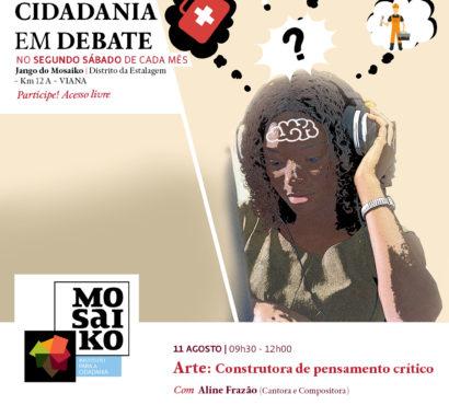 Cidadania em Debate: Arte – Construtora de Pensamento Crítico