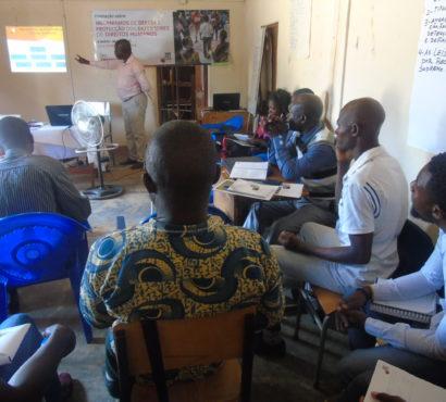 Mosaiko promove a auto-protecção dos Defensores de Direitos Humanos