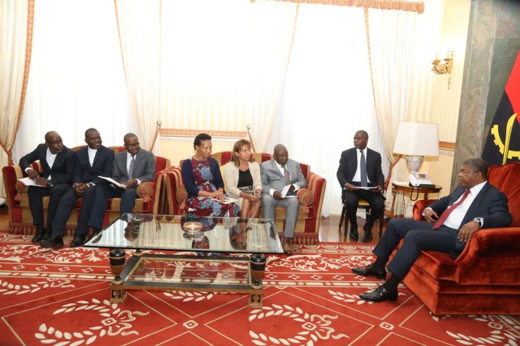 Mosaiko apresenta ao Presidente da República preocupações sobre Direitos Humanos 1
