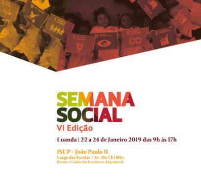 VI Semana Social Nacional (2019)
