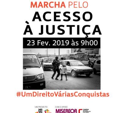 Marcha pelo Acesso à Justiça em Angola