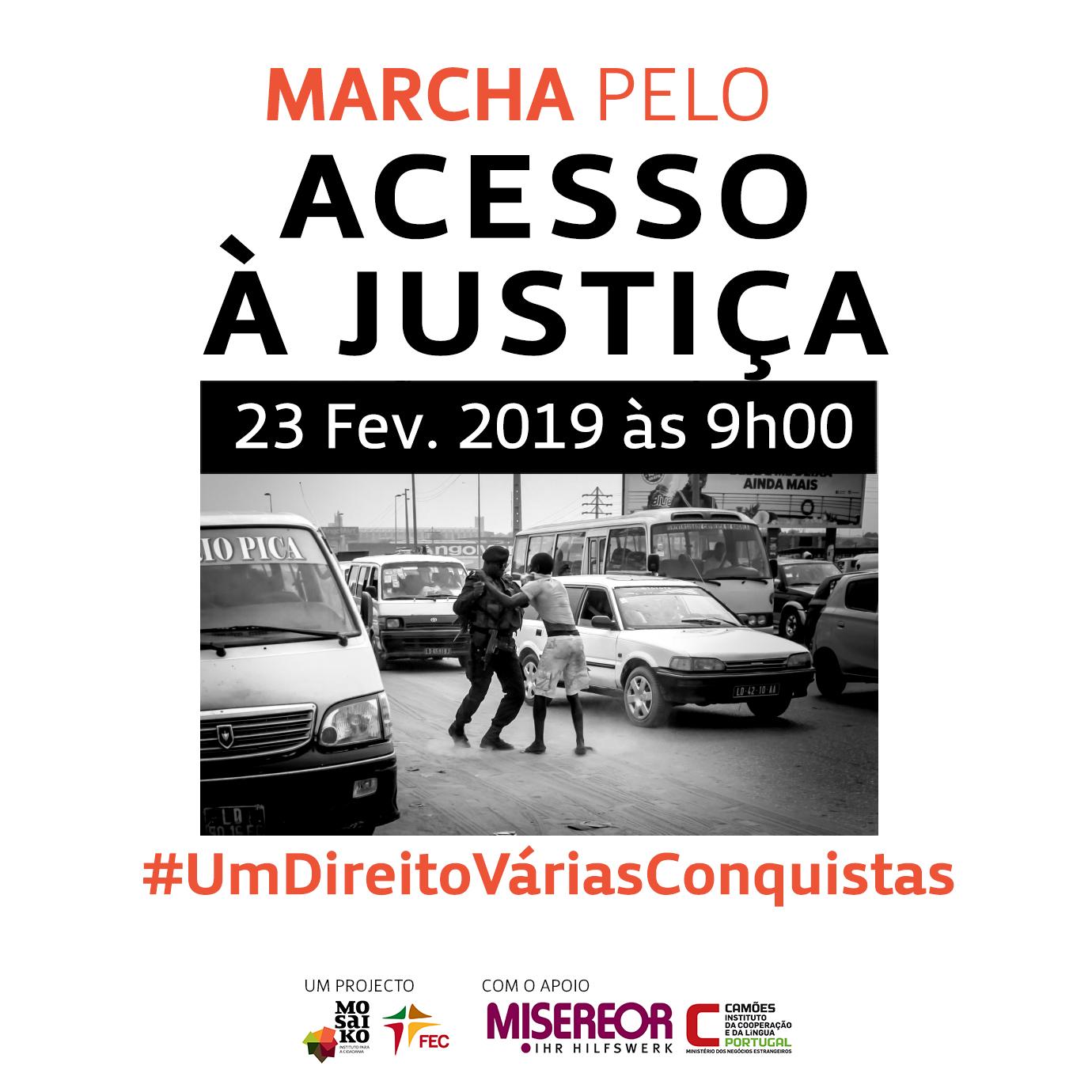 Marcha pela Justiça em Angola