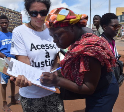 Marcha: Mosaiko entrega manifesto ao Ministério da Justiça