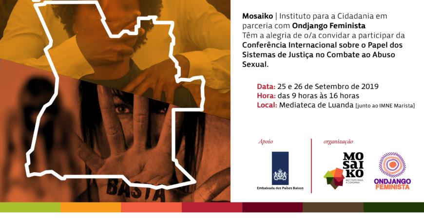 MOSAIKO REALIZA CONFERÊNCIA INTERNACIONAL SOBRE ABUSO SEXUAL