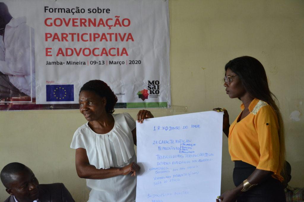 Mosaiko Fundação Fé e Cooperação União Europeia