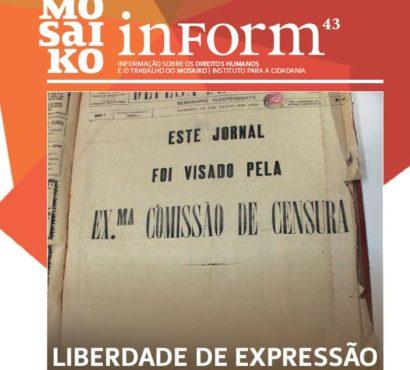 Mosaiko Inform 43 – Liberdade de Expressão