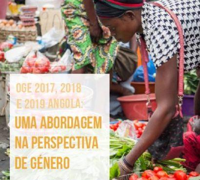 Análise sobre Orçamento Geral do Estado em Angola 2017, 2018 e 2019 na perspectiva de Género