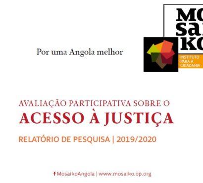 Avaliação Participativa sobre Acesso à Justiça 2019/2020