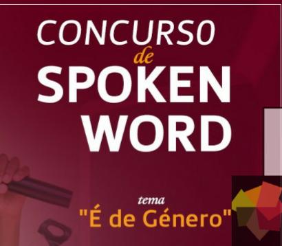 """Concurso de Spoken Word – """"É de Género"""""""